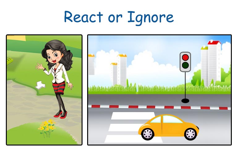 Social Behaviour: To react or ignore if you see something wrong